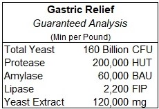Gastric Relief Guaranteed Analysis